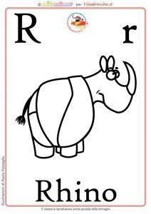 lettera alfabeto inglese
