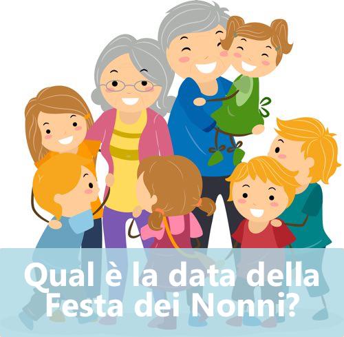 data della Festa dei Nonni