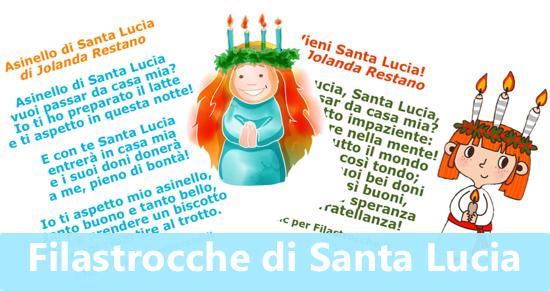 Filastrocche di Santa Lucia