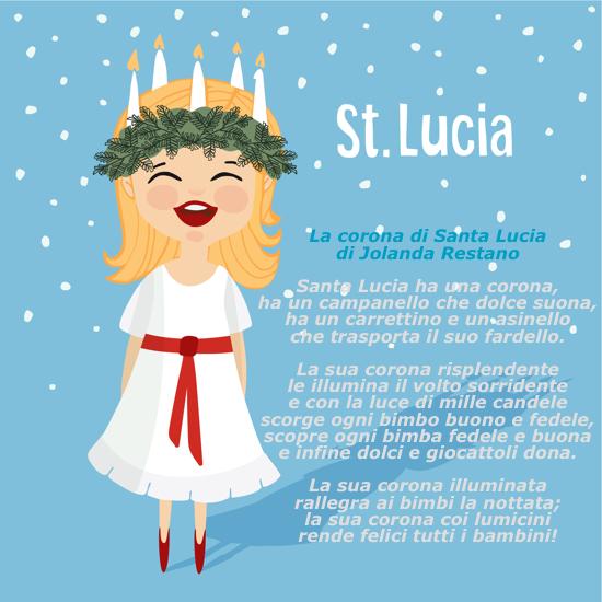 Poesie per Santa Lucia