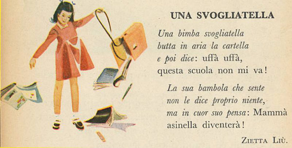 Filastrocche di Lea Maggiulli Bartorelli