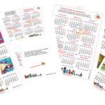 Calendari 2019 in inglese