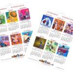 Calendario 2019 semestrale gratuito e fai da te