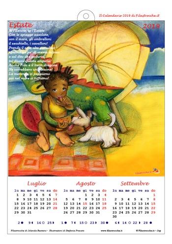 Calendari 2019 stagionali