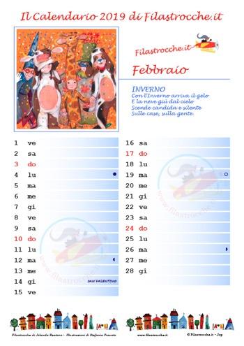 Calendario Aprile 2018 Con Festivita.Calendario 2019 Con Spazio Per Le Note Gratuito E Fai Da Te