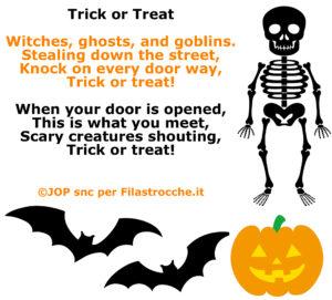 Poesie di Halloween in Inglese