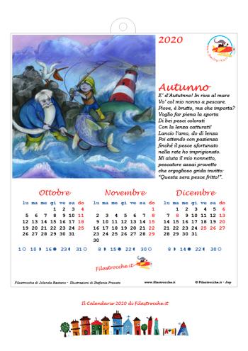 Calendari 2020 stagionali