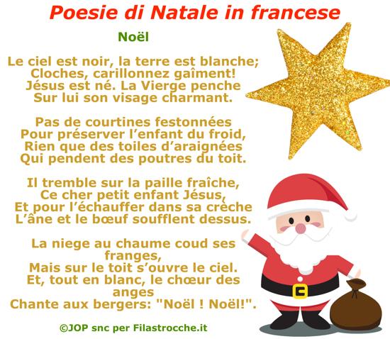 Poesie Di Natale Facili.Poesie Di Natale In Francese Natale Su Filastrocche It