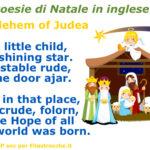 Poesie di Natale in inglese