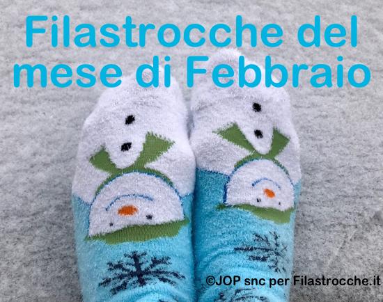 Filastrocche del mese di Febbraio