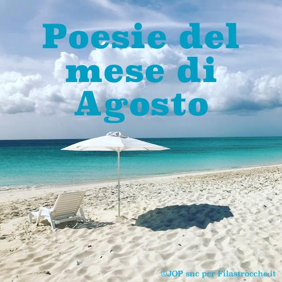 Poesie del mese di Agosto