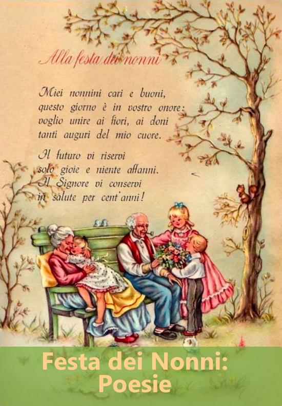 Festa dei Nonni: Poesie