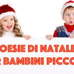 Poesie di Natale per bambini piccoli