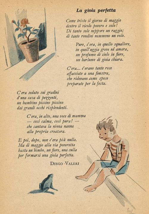 Filastrocche di Diego Valeri