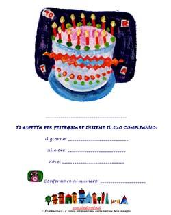 Inviti da appendere più simpatici per la vostra festa di compleanno