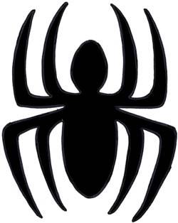 Maschere batman e spiderman fai da te facile e di sicuro - Immagini da colorare dell uomo ragno ...