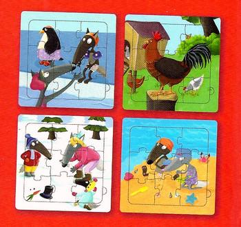 Il libro puzzle di Lupetto