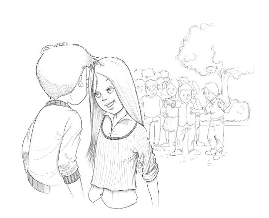 Niente baci, grazie!