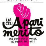 A pari merito. Più diritti per le ragazze, più libertà per tutti!