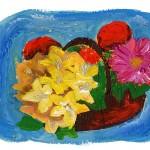 Per fare un tavolo…(e per giocare) ci vuole un fiore