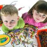 Si scatena la creatività con Crayola!