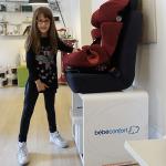 A scuola di sicurezza in auto con Bébé Confort
