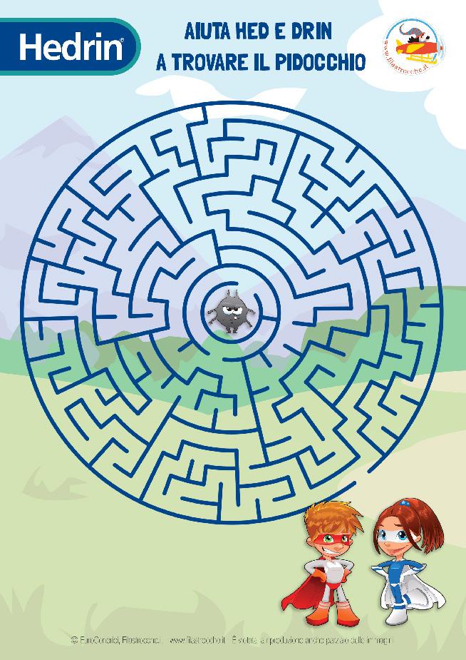 Gioca con Hedrin: il labirinto