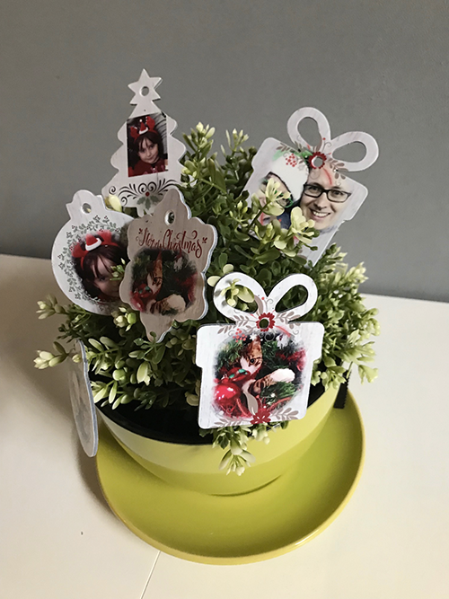 Il mio albero di natale speciale con le decorazioni for Decorazioni natalizie personalizzate
