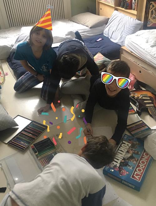 Pigiama Party per maschi di 10 anni