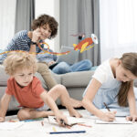 Scuole chiuse: 10 cose da fare con i bambini a casa